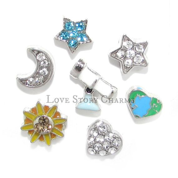 Hey, I found this really awesome Etsy listing at https://www.etsy.com/listing/471586494/sun-moon-and-stars-floating-charm-set