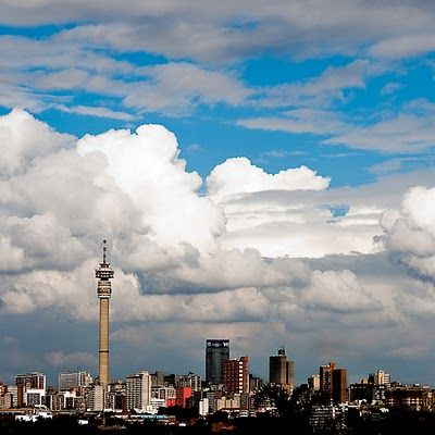 The towers and overview of our city of Gold - Johannesburg, South Africa