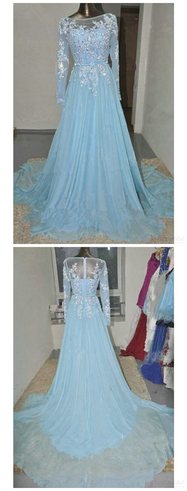 long sleeve prom dresses,applique prom dress,prom,new prom dresses,#promdresses #simibridal