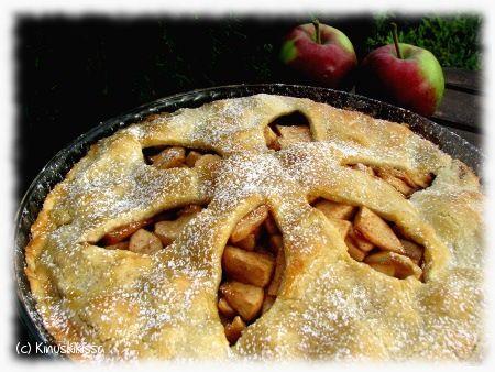 Apple pie | Reseptit | Kinuskikissa