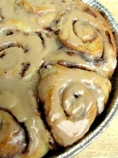 The Pioneer Woman's Cinnamon Rolls-the recipe makes large batches. Could we do this for a fundraiser or make around Christmas as a make/take Christmas present?