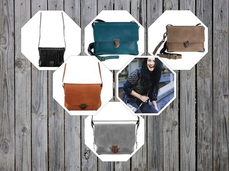 Elvy tasjes, verkrijgbaar bij ons in de winkel en online! Het tassenmerk Elvy is in 2013 opgericht door de Nederlandse zangeres en fashionista Laura Vlasblom. Het allereerste tasje van Elvy, de Elvy Janis, is geïnspireerd op een oud Pools munitietasje uit de tweede wereldoorlog. Het leren tasje is licht, compact en heel makkelijk draagbaar. Sinds 2013 maakt Elvy steeds meer soorten tassen, die allemaal vernoemd zijn naar bekende rockzangeressen zoals Janis Joplin en Alanis Morissete.