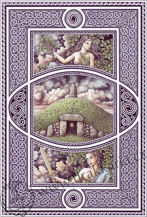 Sidhe Irská Keltská Mytologie
