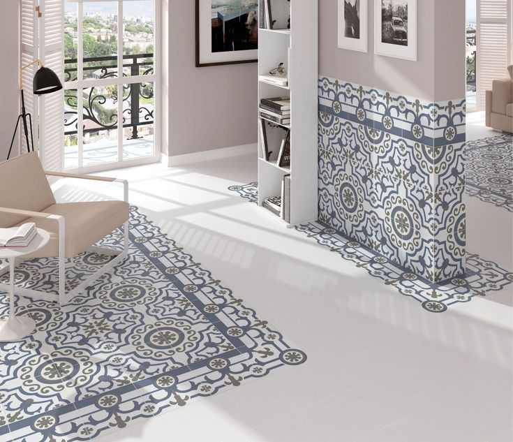 Hidraulico Ducados Floor and Wall Styling