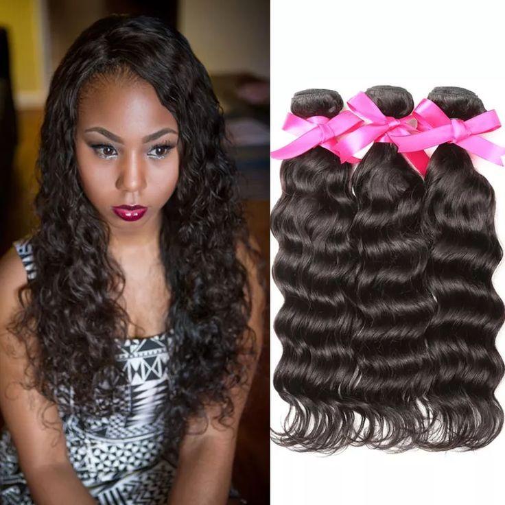 39 best curly weave virgin hair images on pinterest curly weaves 3pcspack dsoar hair malaysian natural wave human virgin hair weavingbeautiful hair pmusecretfo Gallery