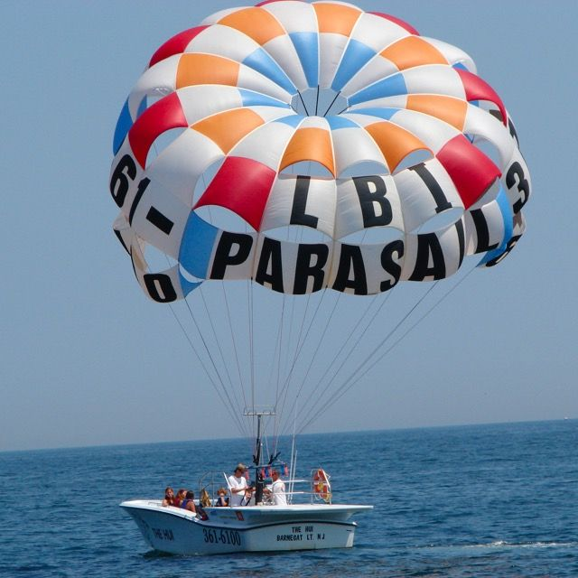 Lbi Parasail Photos Parasailing In