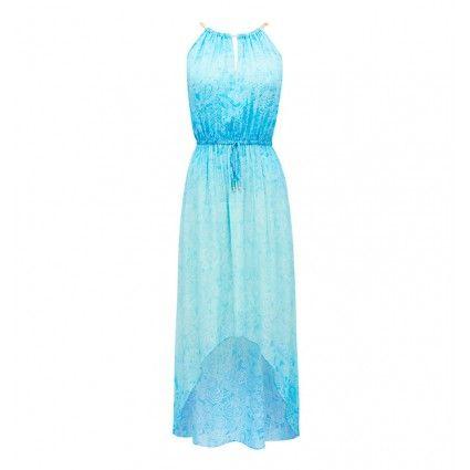 Ebony Ombre Paisley Dress