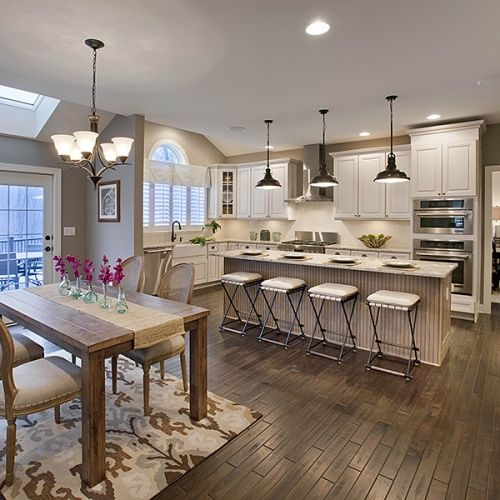 Loving This Open Concept By Tollbrothers: Joining Smaller Areas Together To Create One Large, Open