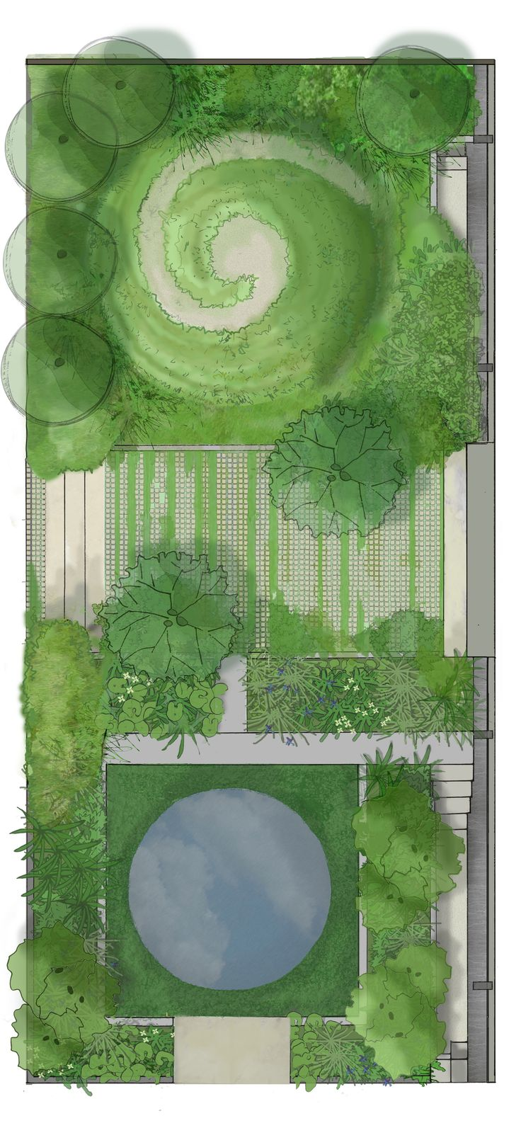 ABF The Soldiers' Charity Garden designed by Charlotte Rowe for the RHS Chelsea Flower Show 2014. © Charlotte Rowe