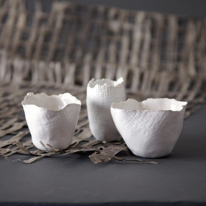 votives: could work with crayola air-dry clay in white.