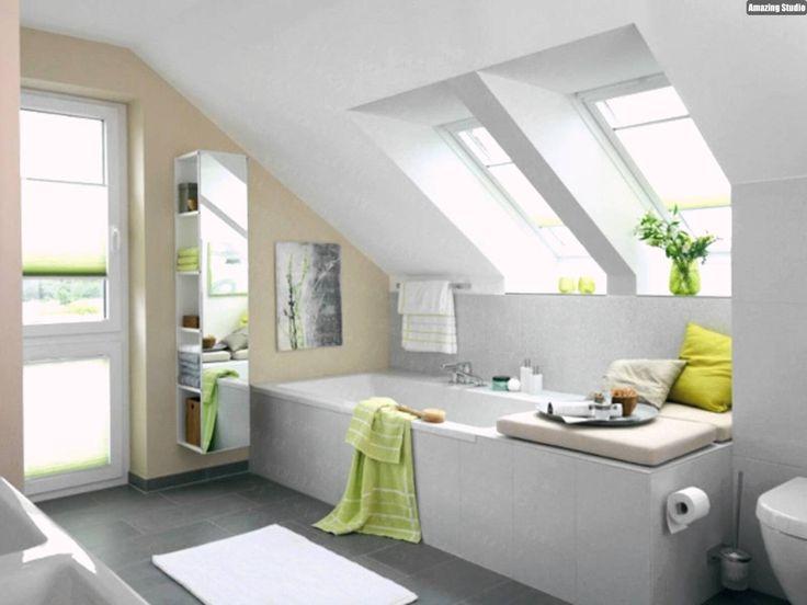 Die besten 25+ Wandgestaltung dachschräge Ideen auf Pinterest - schlafzimmer farben dachschrge