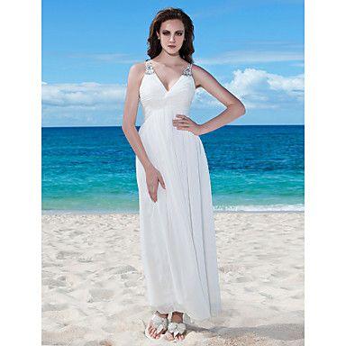 DONKA - Vestido de Novia de Gasa – EUR € 79.99