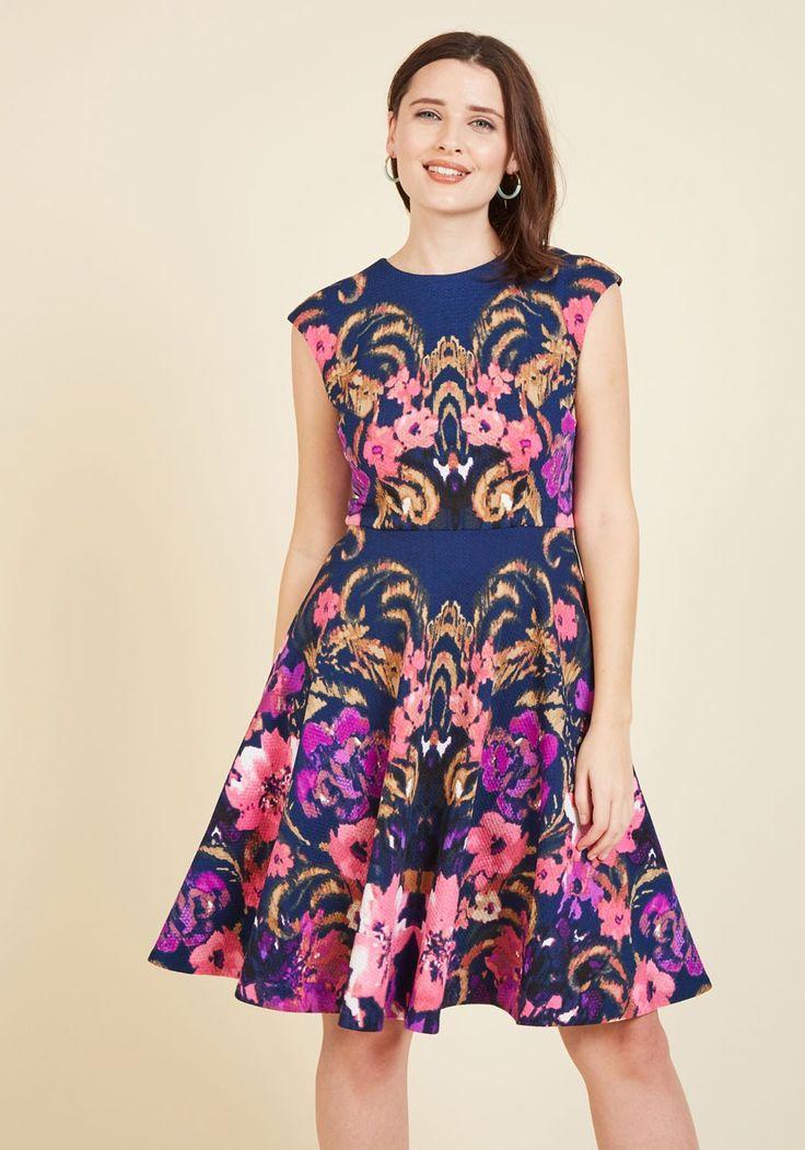 Hamptons Garden Party Floral Dress