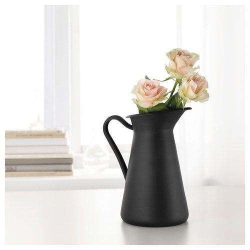 SOCKERART vazo siyah 22 cm | IKEA Ev Dekorasyonu
