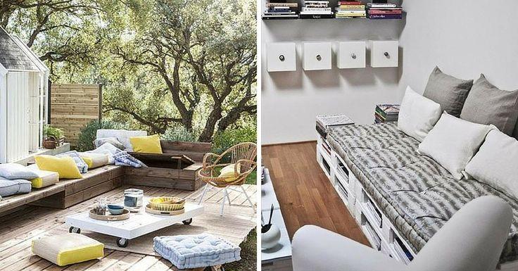 17 Meilleures Id Es Propos De Coussin Pour Palette Sur Pinterest Coussin Jardin Coussin
