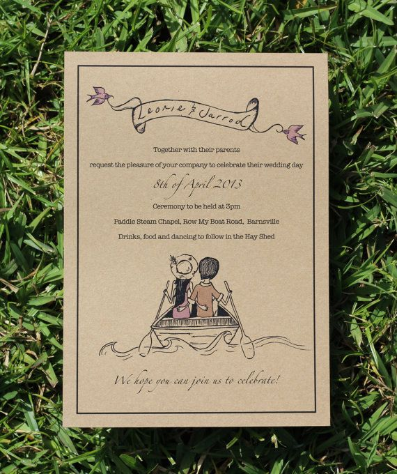 Love Boat Wedding Package By DeerDaisy On Etsy Engagement