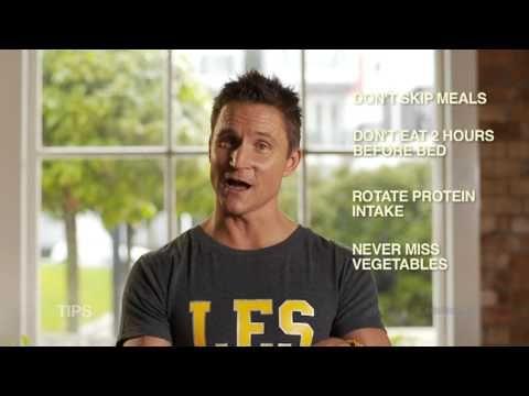 Les Mills 21 Day challenge & Food Pyramid videos