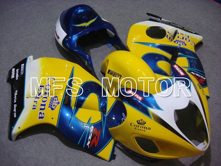 612.87$  Buy now - http://alilf5.worldwells.pw/go.php?t=1983765281 - For Suzuki GSXR 1300 Hayabusa 1997-2007 98 99 Injection ABS Fairing Kits GSX 1300R 01-06 03 04 Yellow Blue Motorcycle Part
