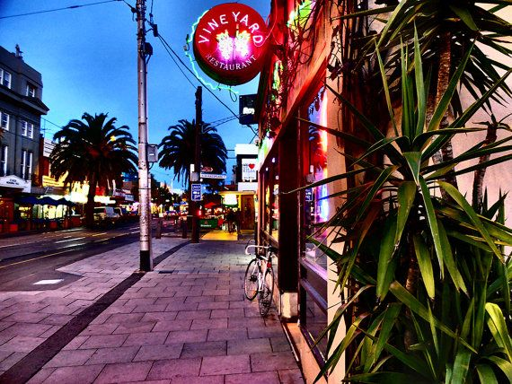 St Kilda Melbourne Street Style Canvas Prints by TessEverettPhotos