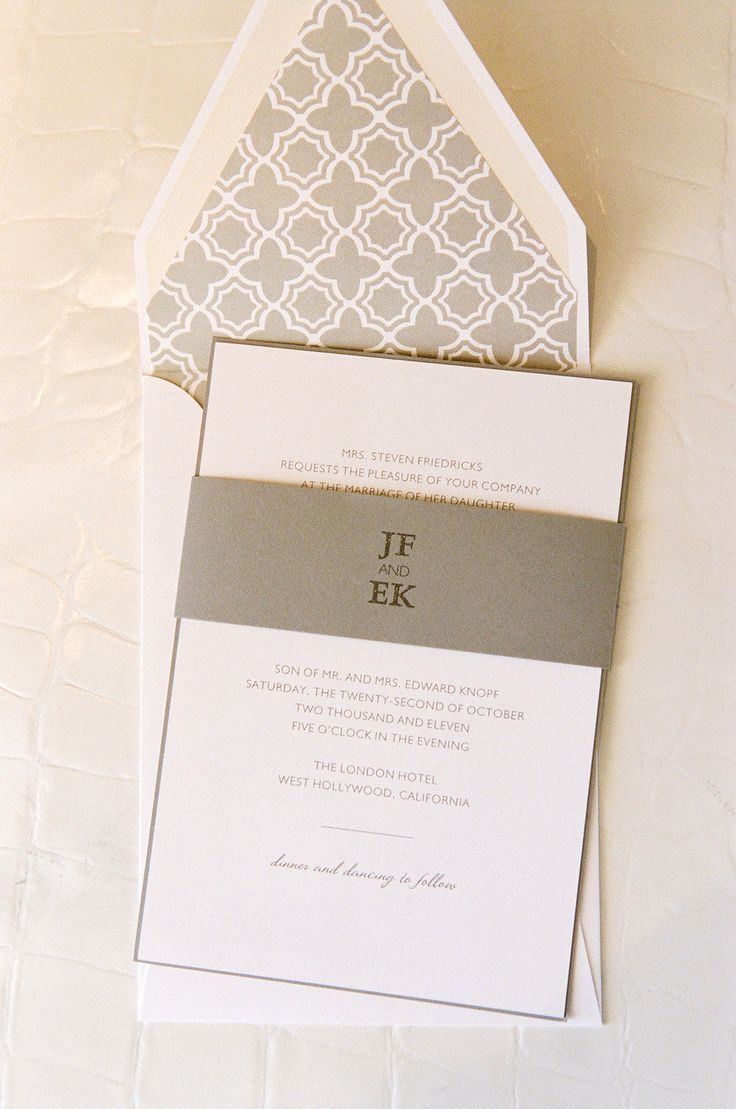 69 Best Invitations Menus Table Cards Images On Pinterest