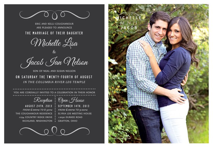 Wedding Invitation Ideas Utah Announcements Utah