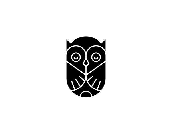Logos by Tim Boelaars, via Behance: Tim Boelaar, Logos Design, Graphics Design, Icons, Allan Peter, Book Covers, Tattoo, Owl Logos, Owl Design