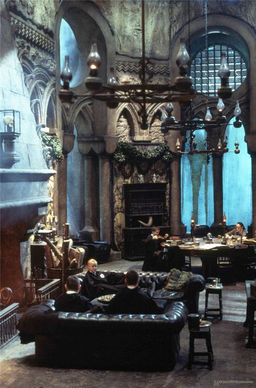 slytherin common room - Google Search