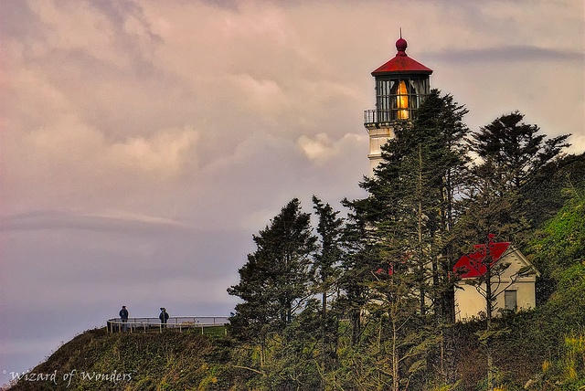 Lovely little lighthouse at Devils Elbow State Park in Florence, OR.