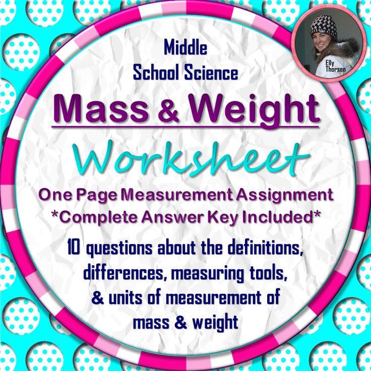 1000 Ideas About Measurement Worksheets On Pinterest