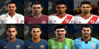 Actualizacion Pes 2013: Facepack Liga Argentina v1 2016 Pes 2013 By Ler