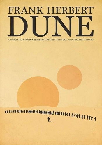 Dune | Paul J. Murray | ShortList alternative book covers