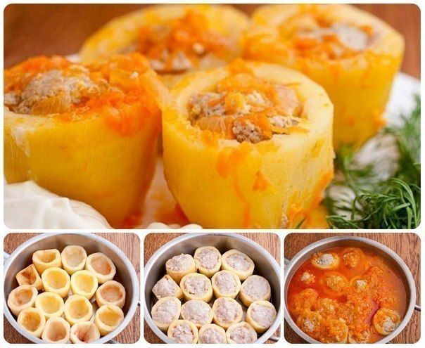 ФАРШИРОВАННАЯ КАРТОШЕЧКА http://pyhtaru.blogspot.com/2017/03/blog-post_31.html   Потрясающая фаршированная картошечка! Ингредиенты:  - картофель — 1 кг - фарш мясной — 300 гр - лук — 2 шт средние - морковь — 100 гр - паста томатная — 1 ст ложка - растительное масло  Читайте еще: ==================================== КАРТОФЕЛЬ С КУРИЦЕЙ В МУЛЬТИВАРКЕ http://pyhtaru.blogspot.ru/2017/03/blog-post_4.html ====================================  Приготовление:  1 Подбираем картошку одинакового…