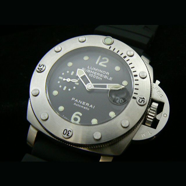 Last summer we went to Turkey, and I added some Panerai Replica`s to my collection, also this Panerai Luminor Submersible