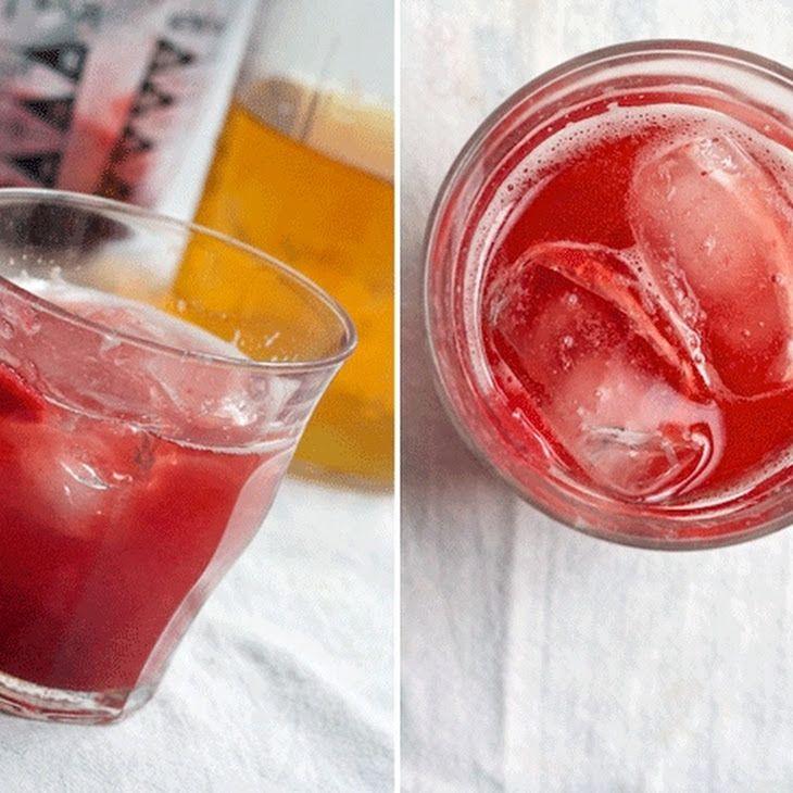 Iced Strawberry Green Tea | karyl's | Pinterest