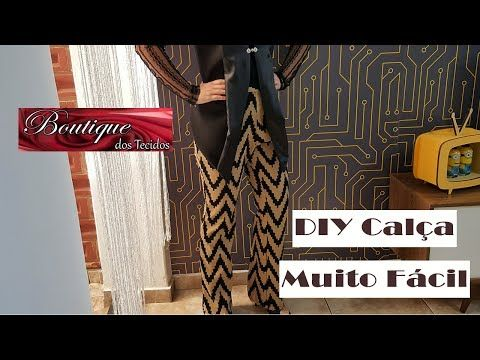 DIY - Calça Social em 7 minutos + Molde - Curso de Corte e Costura - Passo a Passo - YouTube