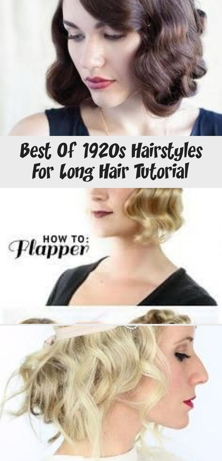 Best Of 1920s Hairstyles For Long Hair Tutorial 1920slonghair Best Of 1920s Hairstyles For Long Hair Tutorial Vin Long Hair Styles 1920s Long Hair 1920s Hair