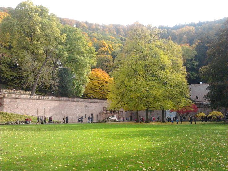 Heidelberg Schloß Garten