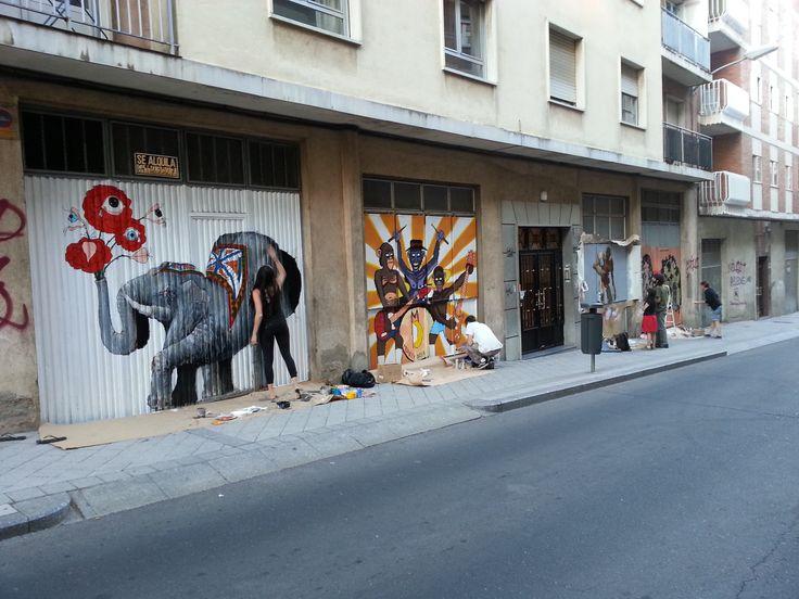 Galerîa Urbana, Barrio del Oeste - Salamanca, España #Salamanca