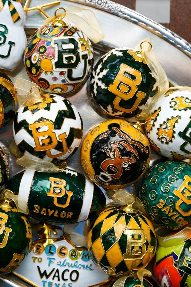 Baylor ornaments galore! #SicEm!