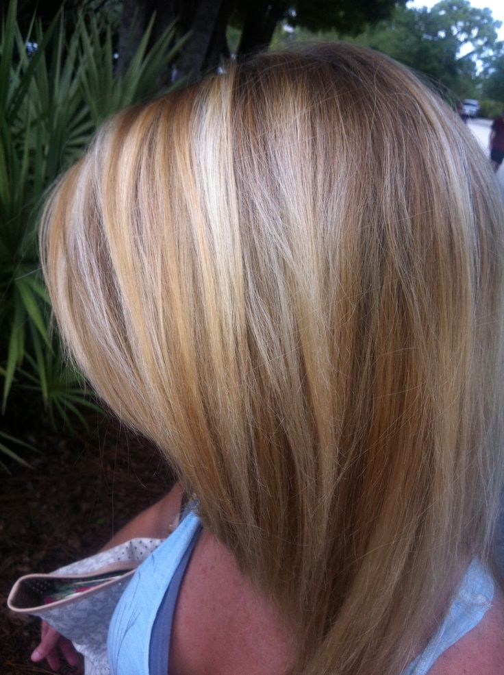 Natural dirty blonde with highlights and neutral medium dark blonde ...
