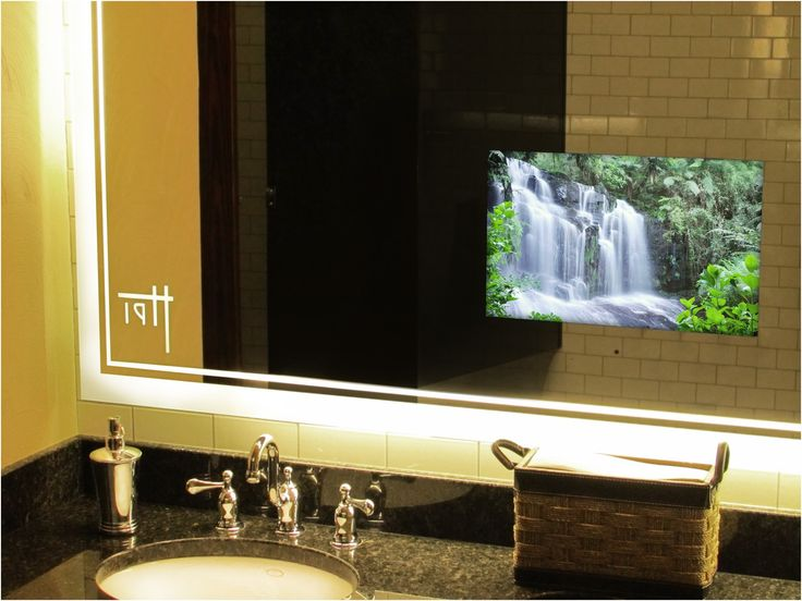 Tv In Bathroom Mirror 73 Inspiring Style For Hidden Behind From Mirrors