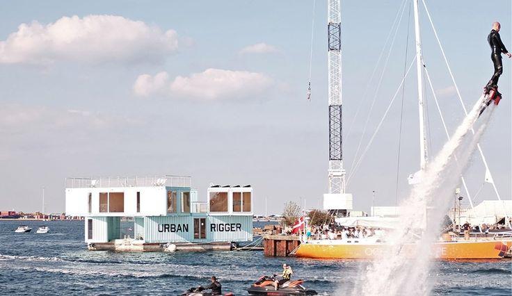 Cool container: Nye studieboliger flyder på vandet - billede 8