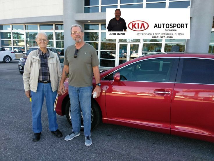 "Jerry Smart and KIA AutoSport of Pensacola would like to thank Mr. John McAlister for the purchase of his 2011 Toyota Venza!! We thank you so much for making us your GO TO Dealer! Welcome to the KIA AutoSport Family!! We look forward to continuing to serve you for years to come!! ""WE WANNA SEE YA IN A KIA"" #KIAFAMILY"