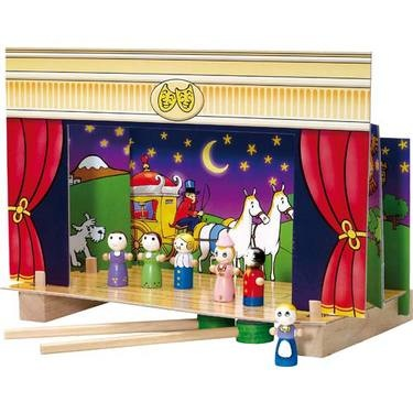 Magnetic Theatre with fairytale stage sets & characters.