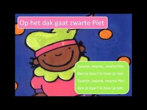 Lied: Op het dak gaat zwarte Piet