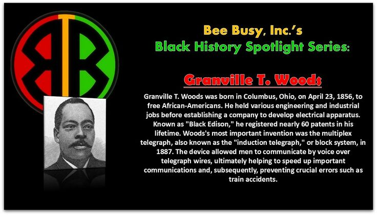 Granville T Woods Black History Pinterest Spotlight