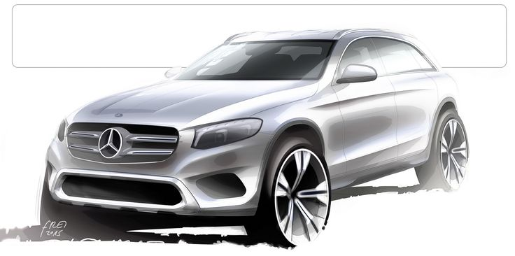 Mercedes-Benz Details All-New GLC Crossover In 88 Photos