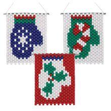 Mittens Mini Beaded Ornaments