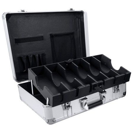 Vincent Large Master Case - Silver #VT10142-SV $139.95  Visit www.BarberSalon.com One stop shopping for Professional Barber Supplies, Salon Supplies, Hair & Wigs, Professional Products. GUARANTEE LOW PRICES!!! #barbersupply #barbersupplies #salonsupply #salonsupplies #beautysupply #beautysupplies #hair #wig #deal #promotion #sale #vincent #barbercase