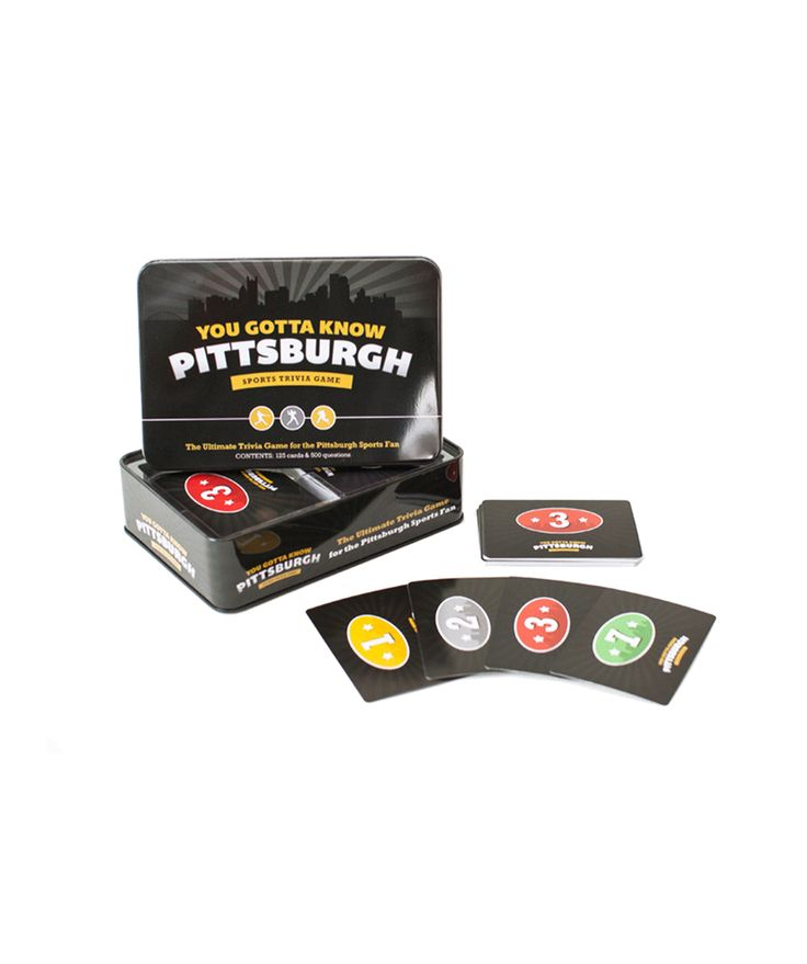 You Gotta Know Pittsburgh Game